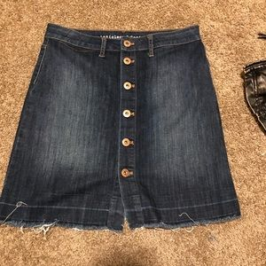 Dresses & Skirts - Denim button skirt